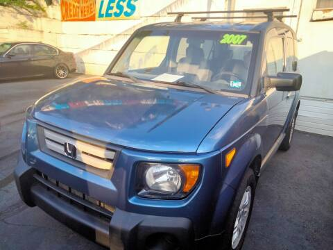 2007 Honda Element for sale at High Level Auto Sales INC in Homestead PA