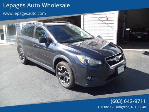 2013 Subaru XV Crosstrek for sale at Lepages Auto Wholesale in Kingston NH