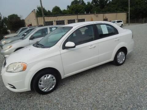 2010 Chevrolet Aveo for sale at Wheels & Deals Smithfield Inc. in Smithfield NC