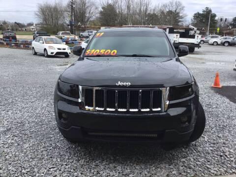 2011 Jeep Grand Cherokee for sale at K & E Auto Sales in Ardmore AL