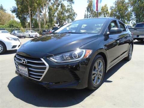 2018 Hyundai Elantra for sale at Centre City Motors in Escondido CA