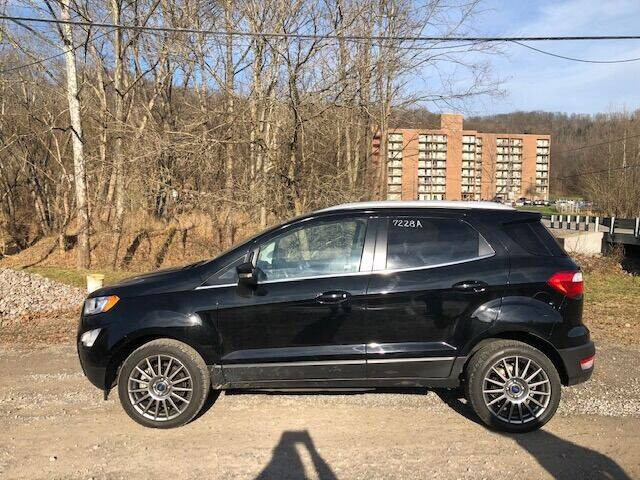 2019 Ford EcoSport for sale at WESTON FORD  INC in Weston WV
