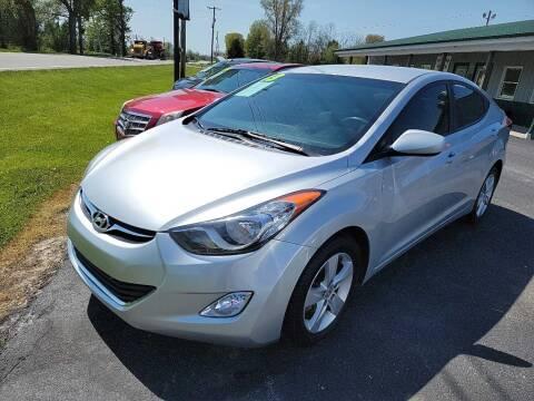 2013 Hyundai Elantra for sale at Pack's Peak Auto in Hillsboro OH