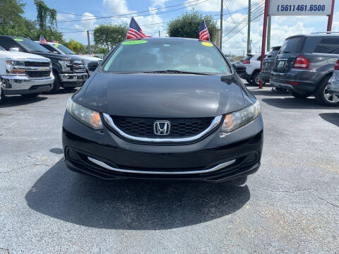 2014 Honda Civic for sale at Bargain Auto Sales in West Palm Beach FL