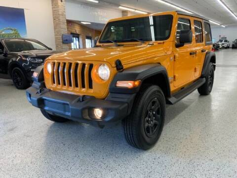 2018 Jeep Wrangler Unlimited for sale at Dixie Imports in Fairfield OH