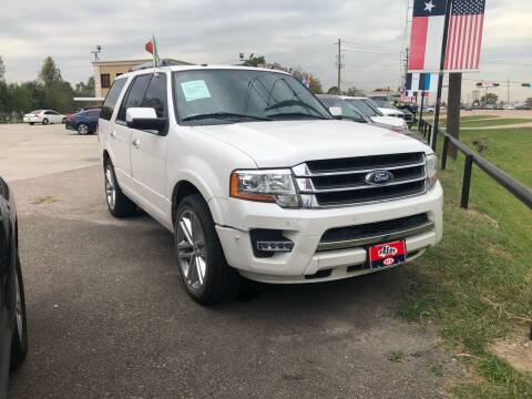 2015 Ford Expedition for sale at FREDY CARS FOR LESS in Houston TX