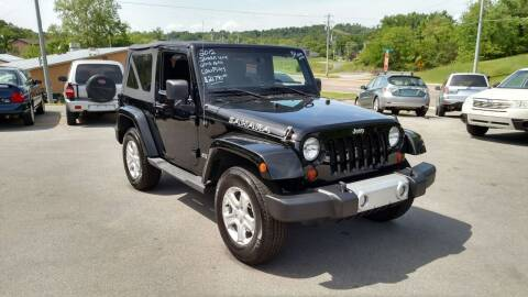 2012 Jeep Wrangler for sale at DISCOUNT AUTO SALES in Johnson City TN