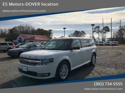 2014 Ford Flex for sale at ES Motors-DAGSBORO location - Dover in Dover DE
