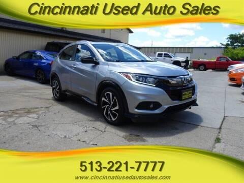 2019 Honda HR-V for sale at Cincinnati Used Auto Sales in Cincinnati OH