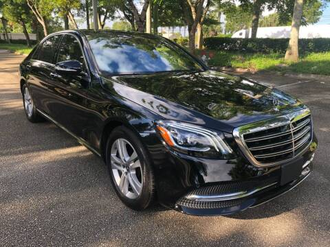 2019 Mercedes-Benz S-Class for sale at DELRAY AUTO MALL in Delray Beach FL
