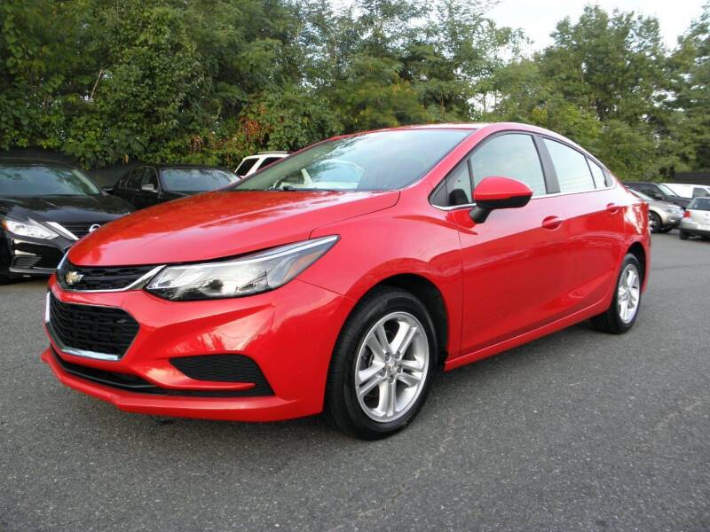 2017 Chevrolet Cruze for sale at Dream Auto Group in Dumfries VA