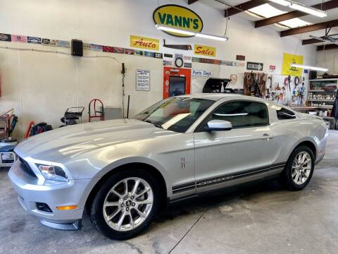 2011 Ford Mustang for sale at Vanns Auto Sales in Goldsboro NC