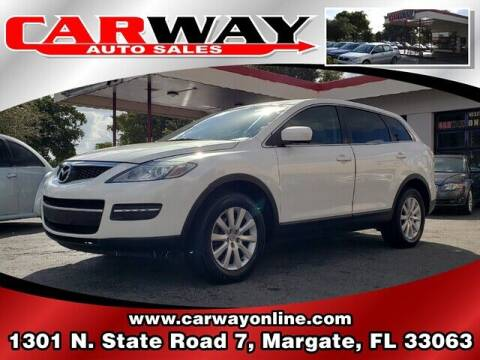 2008 Mazda CX-9 for sale at CARWAY Auto Sales in Margate FL