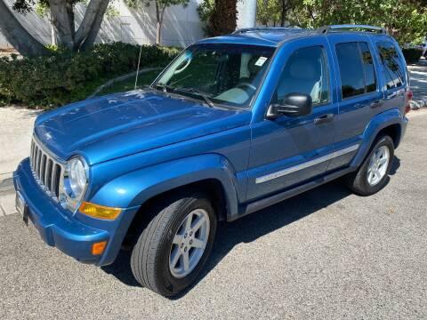2005 Jeep Liberty for sale at Donada  Group Inc in Arleta CA
