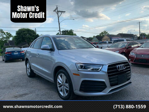 2018 Audi Q3 for sale at Shawn's Motor Credit in Houston TX