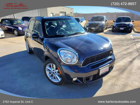 2011 MINI Cooper Countryman for sale at Barton Auto Sales in Frederick CO