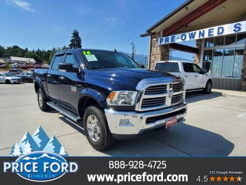 2016 RAM Ram Pickup 2500 for sale at Price Ford Lincoln in Port Angeles WA