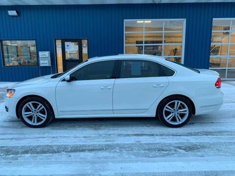 2013 Volkswagen Passat for sale at Twin City Motors in Grand Forks ND