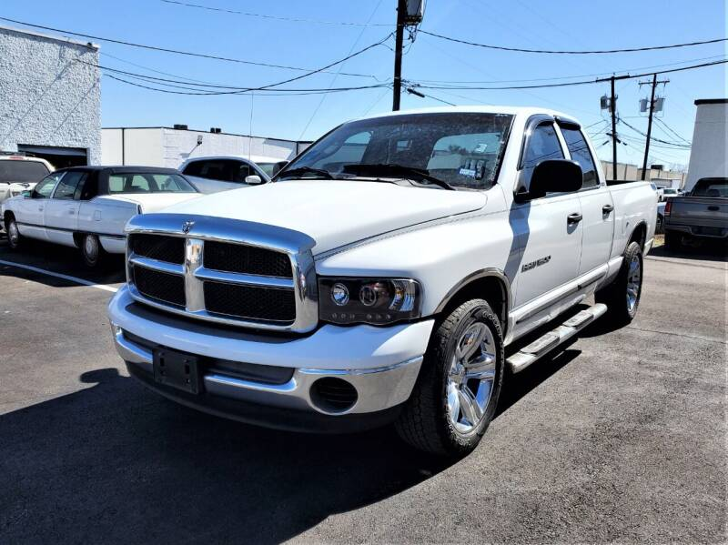 2002 Dodge Ram Pickup 1500 for sale at Image Auto Sales in Dallas TX