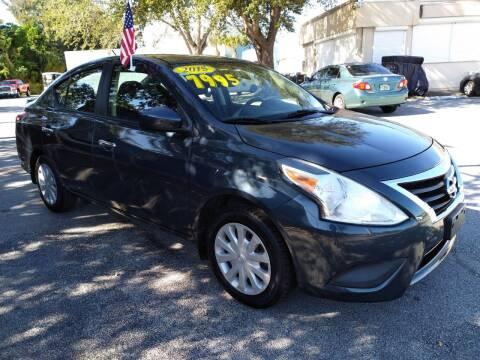 2015 Nissan Versa for sale at Celebrity Auto Sales in Port Saint Lucie FL