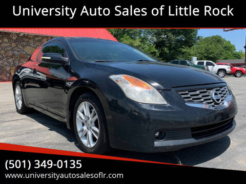 2008 Nissan Altima for sale at University Auto Sales of Little Rock in Little Rock AR