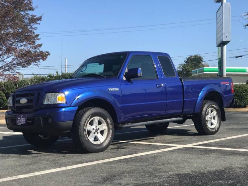 2006 Ford Ranger for sale at RUSH AUTO SALES in Burlington NC