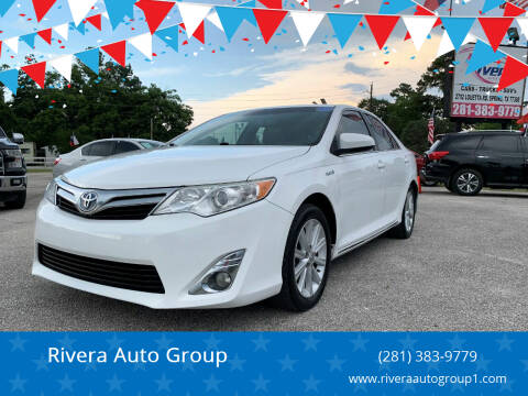 2014 Toyota Camry Hybrid for sale at Rivera Auto Group in Spring TX