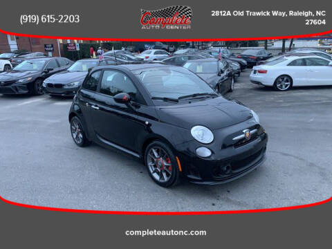 2013 FIAT 500 for sale at Complete Auto Center , Inc in Raleigh NC