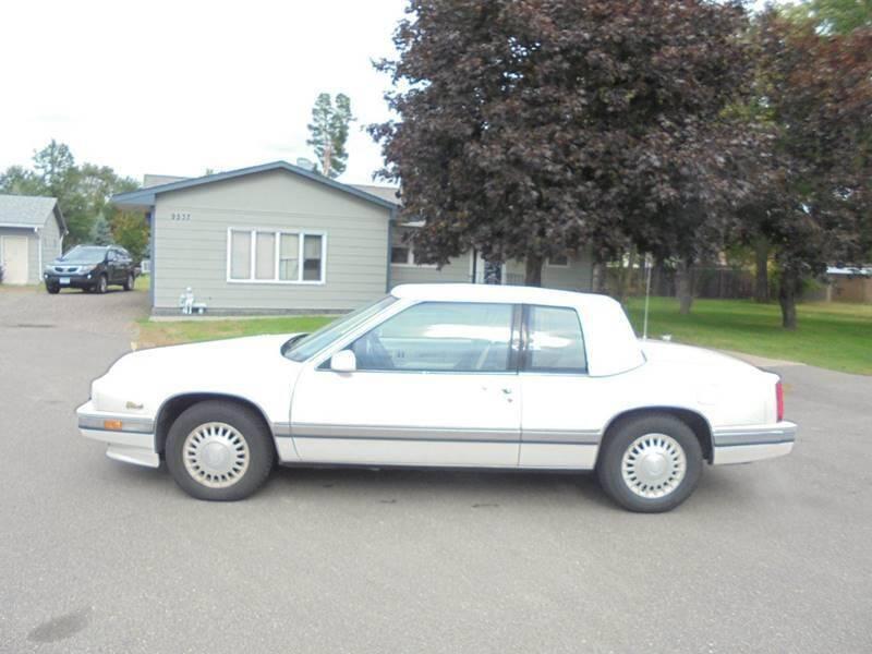 1991 Cadillac Eldorado for sale at Engels Autos Inc in Ramsey MN