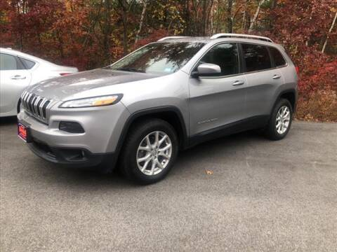 2017 Jeep Cherokee for sale at North Berwick Auto Center in Berwick ME