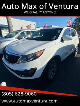2016 Kia Sorento for sale at Auto Max of Ventura in Ventura CA
