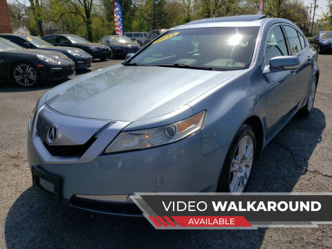 2011 Acura TL for sale at A-Z Auto Sales in Newport News VA