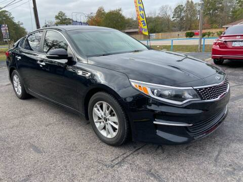 2016 Kia Optima for sale at QUALITY PREOWNED AUTO in Houston TX