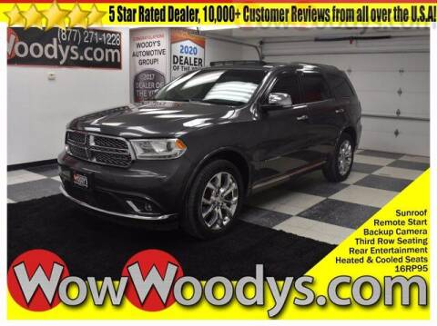 2016 Dodge Durango for sale at WOODY'S AUTOMOTIVE GROUP in Chillicothe MO