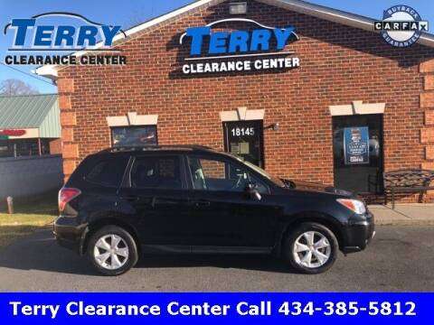 2014 Subaru Forester for sale at Terry Clearance Center in Lynchburg VA