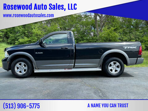 2010 Dodge Ram Pickup 1500 for sale at Rosewood Auto Sales, LLC in Hamilton OH