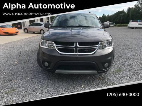 2015 Dodge Journey for sale at Alpha Automotive in Odenville AL