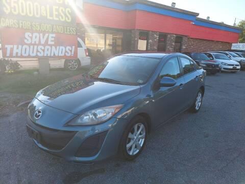 2011 Mazda MAZDA3 for sale at HW Auto Wholesale in Norfolk VA