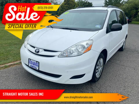 2010 Toyota Sienna for sale at STRAIGHT MOTOR SALES INC in Paterson NJ