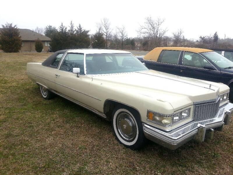 1975 Cadillac DeVille for sale at Black Tie Classics in Stratford NJ