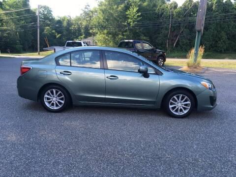 2014 Subaru Impreza for sale at Lou Rivers Used Cars in Palmer MA