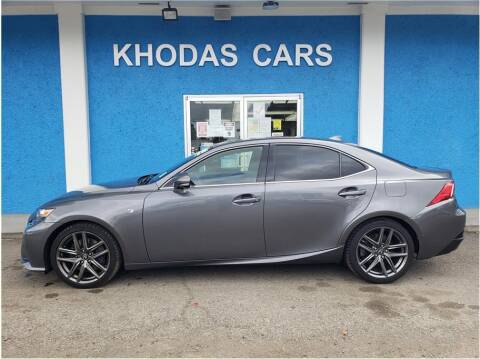 2014 Lexus IS 350 for sale at Khodas Cars in Gilroy CA