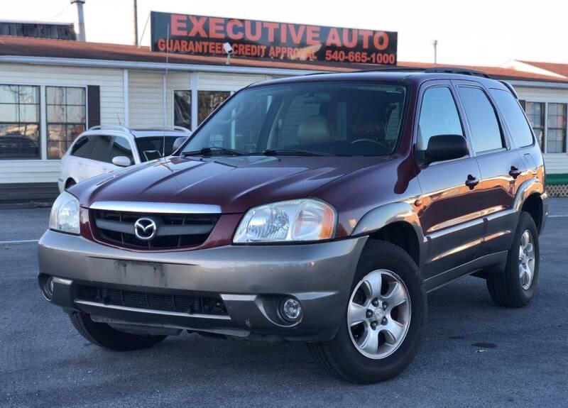 2003 Mazda Tribute for sale at Executive Auto in Winchester VA