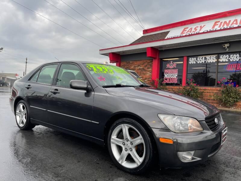 2004 Lexus IS 300 for sale at Premium Motors in Louisville KY