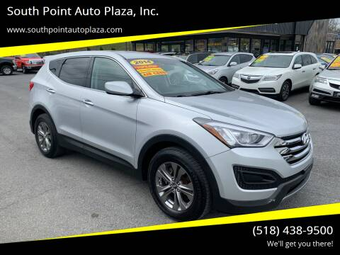 2014 Hyundai Santa Fe Sport for sale at South Point Auto Plaza, Inc. in Albany NY