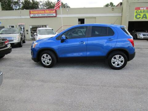 2016 Chevrolet Trax for sale at DERIK HARE in Milton FL