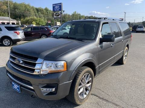 2017 Ford Expedition EL for sale at Ripley & Fletcher Pre-Owned Sales & Service in Farmington ME