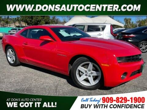 2012 Chevrolet Camaro for sale at Dons Auto Center in Fontana CA