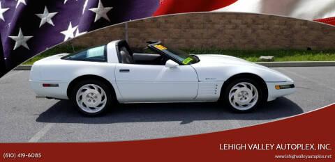 1994 Chevrolet Corvette for sale at Lehigh Valley Autoplex, Inc. in Bethlehem PA