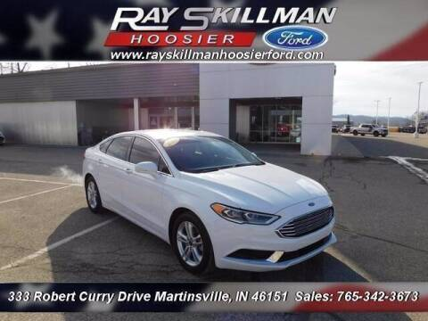 2018 Ford Fusion for sale at Ray Skillman Hoosier Ford in Martinsville IN